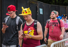 Pokemon Iść Fest - Chicago, IL fotografia royalty free
