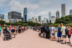 Pokemon Iść Fest - Chicago, IL obrazy stock
