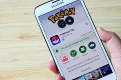 Pokemon Iść w Google sztuce Zdjęcia Stock
