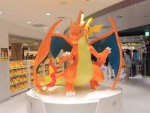 Pokemon Japanese animation. People shop at Pokemon shop in Ikebukuro Tokyo Stock Image