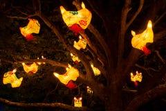 Pokemon lanterns royalty free stock image