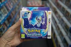 Pokemon månevideogame Arkivbilder