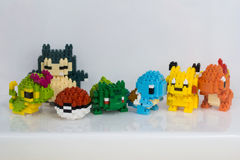 Pokemon Nanoblock Стоковое фото RF