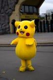 Pokemon Pikachu αποκριές στοκ φωτογραφία με δικαίωμα ελεύθερης χρήσης