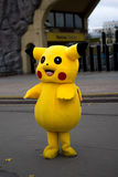 Pokemon Pikachu Halloween royalty-vrije stock foto