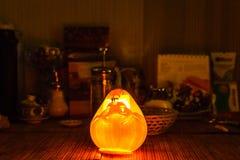 Pokemon. Pumpkin the comfort of home Halloween Royalty Free Stock Photography