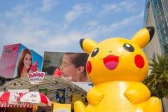 Pokemon Together in Bangkok,thailand Stock Photo