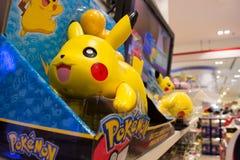 Pokemon Toys. Bangkok, Thailand - July 14, 2016 : Pokemon toys are on the shelf Royalty Free Stock Photo