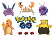 Pokemon va illustrazione di stock