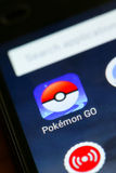 Pokemon va app Fotografie Stock