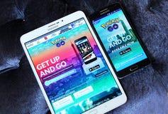 Pokemon vai Foto de Stock