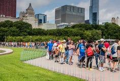 Pokemon vai Fest - Chicago, IL Fotos de Stock Royalty Free