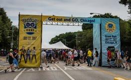 Pokemon vai Fest - Chicago, IL Fotos de Stock