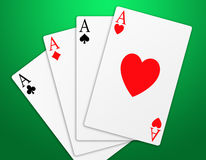 Poker (07) stock images