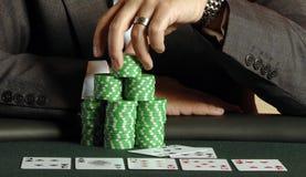 poker 08 Fotografering för Bildbyråer
