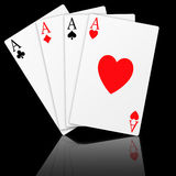Poker (08) stock photography