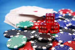 Poker stock images