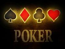 Poker Royalty Free Stock Photos