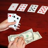 Poker Stock Photo