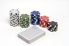 Poker Royalty Free Stock Photo