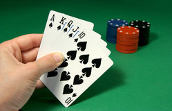 Poker (2) Royalty Free Stock Photo