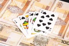 poker Royaltyfri Foto