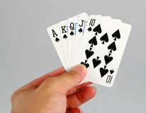 Poker Royalty Free Stock Photography