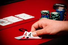 Free Poker Royalty Free Stock Photo - 27871885
