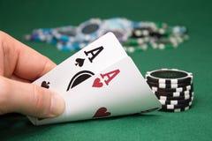 Poker Stockfoto