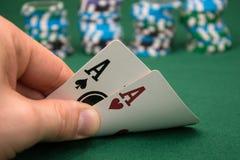 Poker Lizenzfreie Stockfotografie