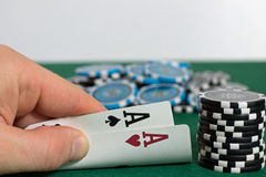 Poker stockfotografie