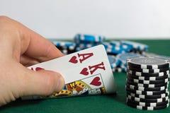 Poker Lizenzfreies Stockbild