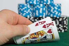 Poker Lizenzfreie Stockbilder