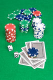 Poker Image libre de droits