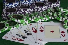 Poker Stockfotos