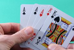 poker Royaltyfri Bild