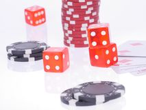 poker Fotografia de Stock Royalty Free