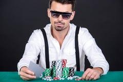 poker arkivbilder