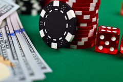 poker Fotos de Stock Royalty Free
