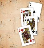 poker Royaltyfria Foton