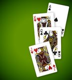 poker Royaltyfri Bild