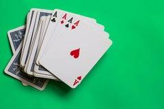 poker Fotografering för Bildbyråer