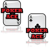 Poker Ace Royalty Free Stock Image