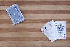 Poker aces Royalty Free Stock Image