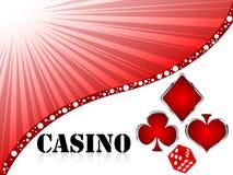 Poker background Royalty Free Stock Image