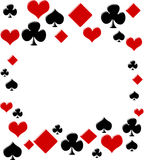 Poker background Stock Image