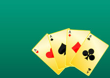 Poker Background Royalty Free Stock Photos