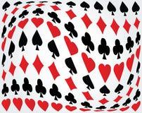 Poker background Stock Photo