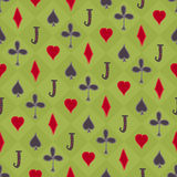 Poker background Stock Photography