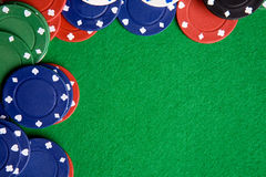 Poker Background Stock Photography